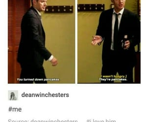 crowley, dean winchester, and demons image