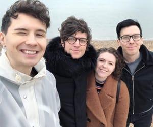 dan, newton, and sophie image