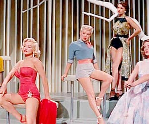 Betty Grable, gif, and how to marry a millionaire image