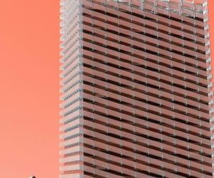 minimalism, orange, and peach image