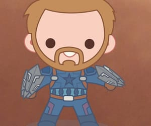 Avengers, caricatura, and Marvel image