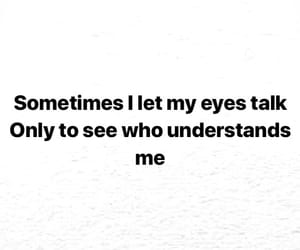 black, eyes, and quote image