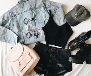 girl, outfit, and spring image