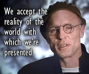 movie quote, reality, and the truman show image