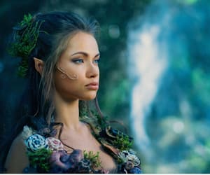 beautiful, blue, and elf image
