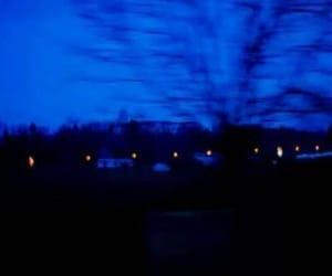 blue, grunge, and glow image