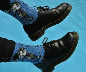 blue, shoes, and socks image