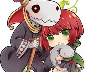 anime, kawaii, and mahoutsukai no yome image