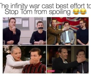funny, lol, and Marvel image