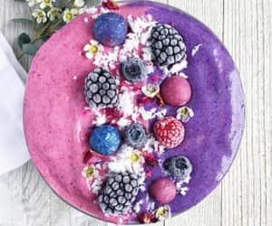 vegan and smoothie bowl image