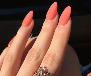 goals, nails, and peach image