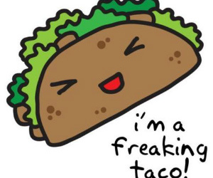 tacos, funny, and food image