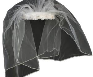 overlay, veil, and wedding veil image