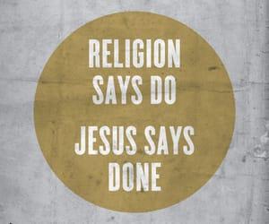 Christ, god, and religion image