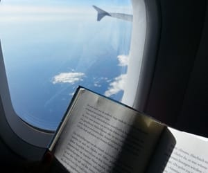 blue, book, and reading image