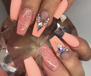 nails, neonnails, and neon image