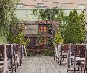 rooftop and wedding image