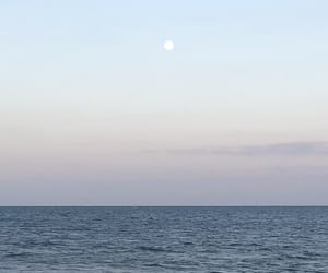 beach, cancun, and moon image