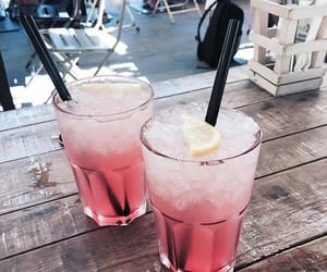 drinks, pink, and cute image