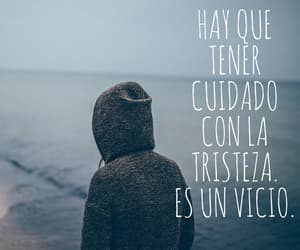 frases, tristeza, and sentimiento image
