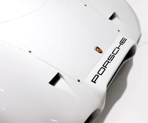 cars, porshe, and white image