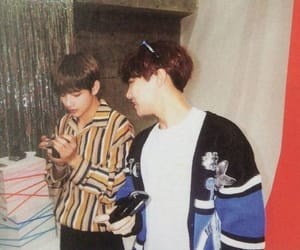 bts, taehyung, and jhope image
