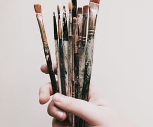 art, Brushes, and aesthetic image