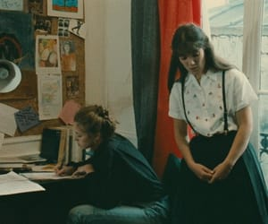 eric rohmer, joelle miquel, and jessica forde image