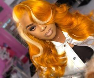 hair, pretty, and fleek image