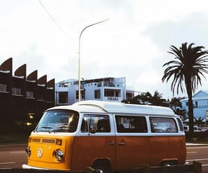 kombi, photography, and summer travel image