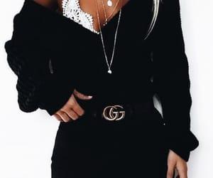 gucci, black, and fashion image