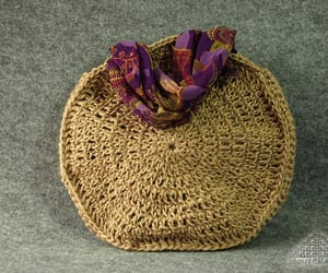 crochet bag, etsy, and vegan bag image