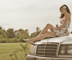 50s, car, and fashion image