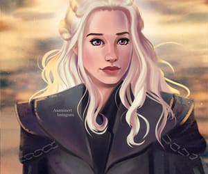 game of thrones, fire and blood, and daenerys targaryen image