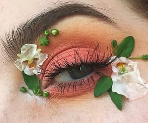 aesthetic, eye, and color image