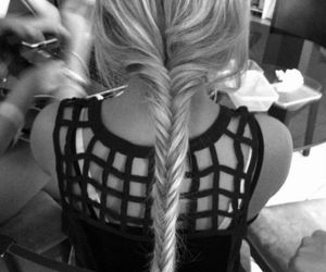 blondie, fashion, and braid image