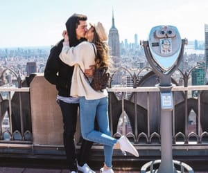 couple, sierrafurtado, and new york image