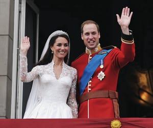 couple, lovely, and royal wedding image