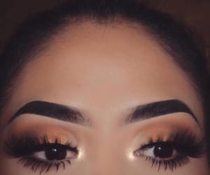 eyebrows, eyes, and eyeshadow image