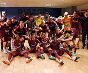 Barcelona, la liga, and campeones image