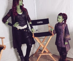 infinity war, gamora, and Marvel image
