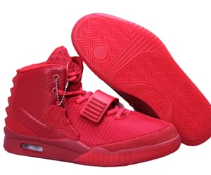 Mens Womens Nike Air Yeezy 2 NRG Red October Basketball Shoes Red 508214 660