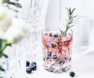 crystal, water, and drink image