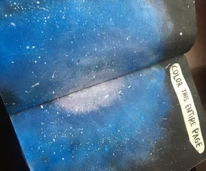 galaxy, page, and paint image