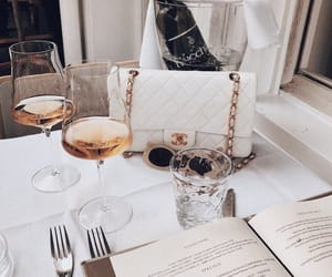 chanel, drink, and fashion image