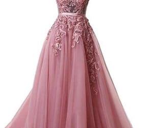 Prom, dress, and prom dress image