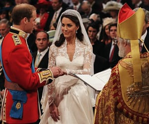 kate middleton, royal wedding, and wedding image