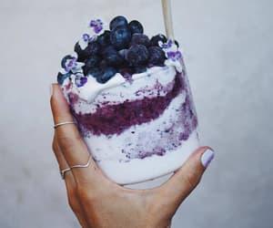 food fruits yogurt image