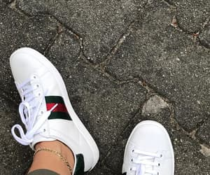 gucci, lifestyle, and sneaker image