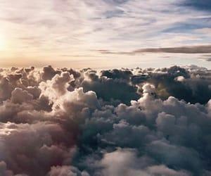 beauty, sky, and blue image